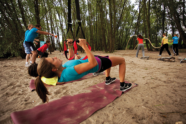 Vielseitige Übungen sorgen für maximale Motivation