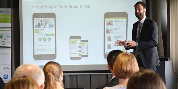Philippe Bopp stellt die machtfit App vor