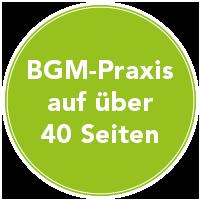 BGM Praxis auf über 40 Seiten