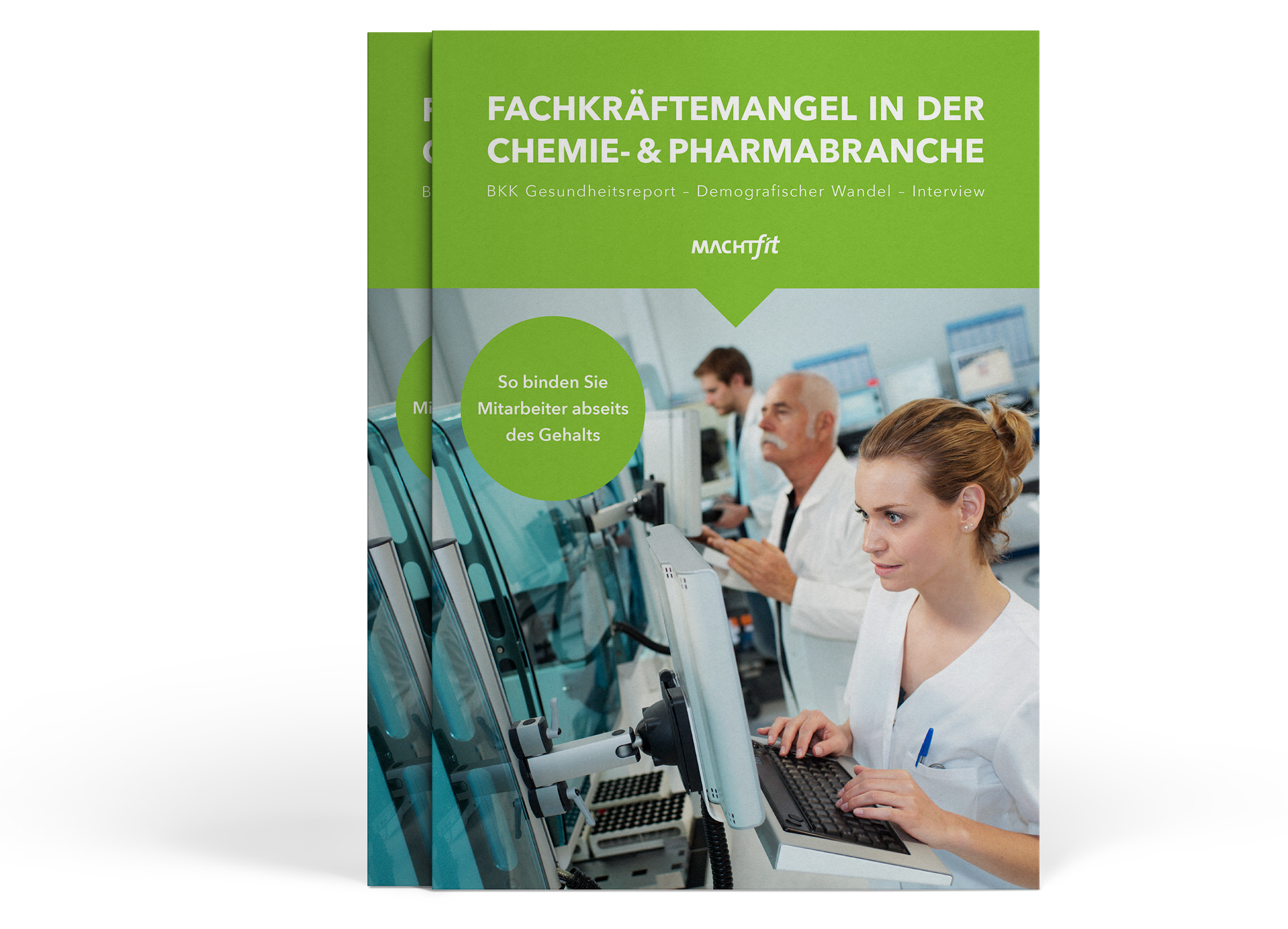 Bild zeigt Ebook Fachkräftemangel in der Chemie- und Pharmabranche