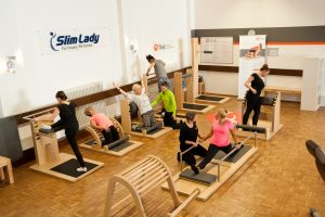 Slim Lady Training Parcour Partnerinterview machtfit BGM