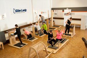 Slim Lady Training Parcour Partnerinterview machtfit BGM
