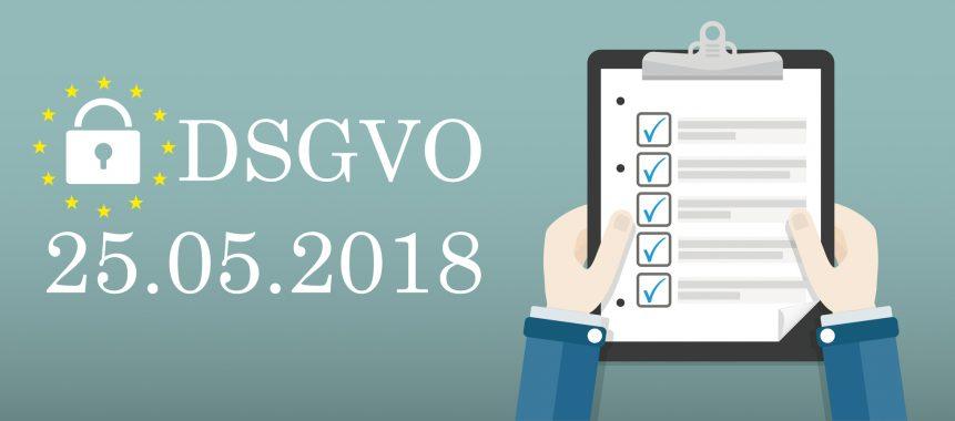 DSGVO Checkliste Datenschutzgrundverordnung