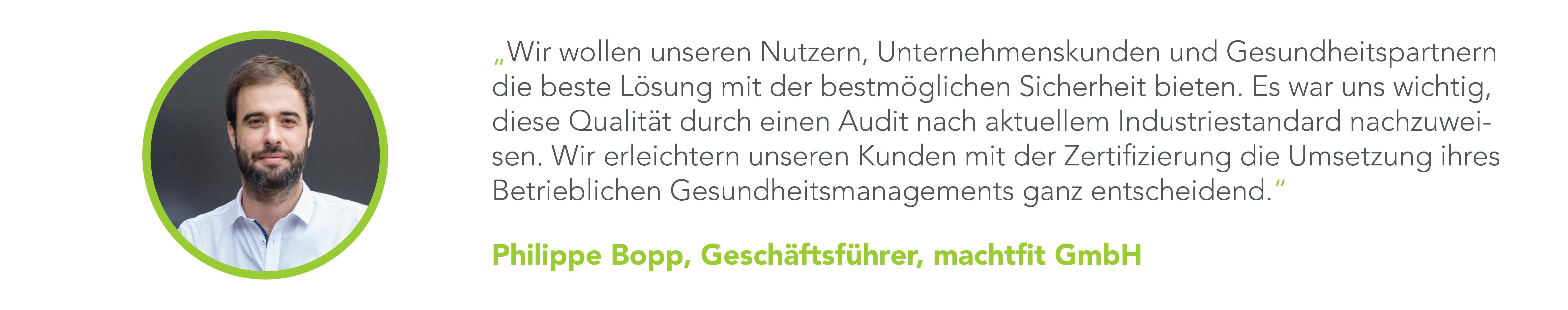 Erste deutsche BGM-Plattform mit ISO-Zertifizierung