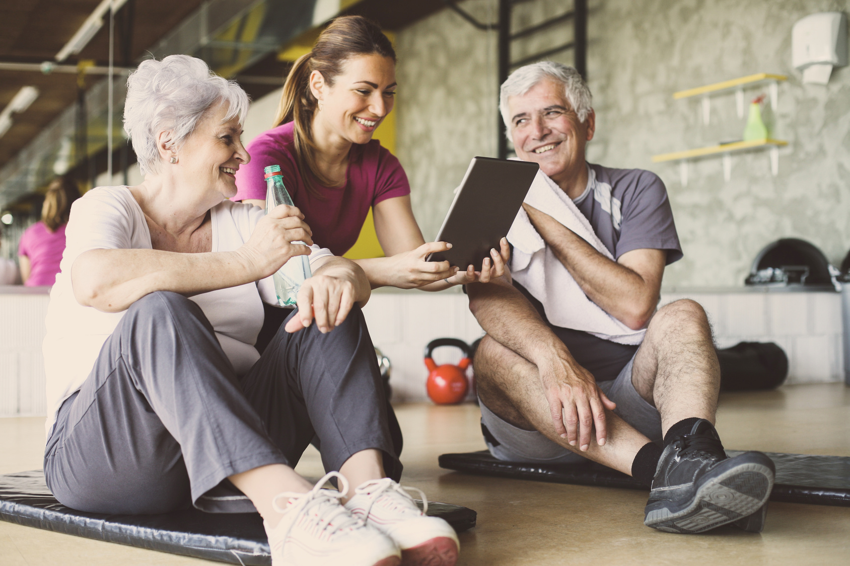 Betriebliche Gesundheitsförderung mit altersgerechtem BGM