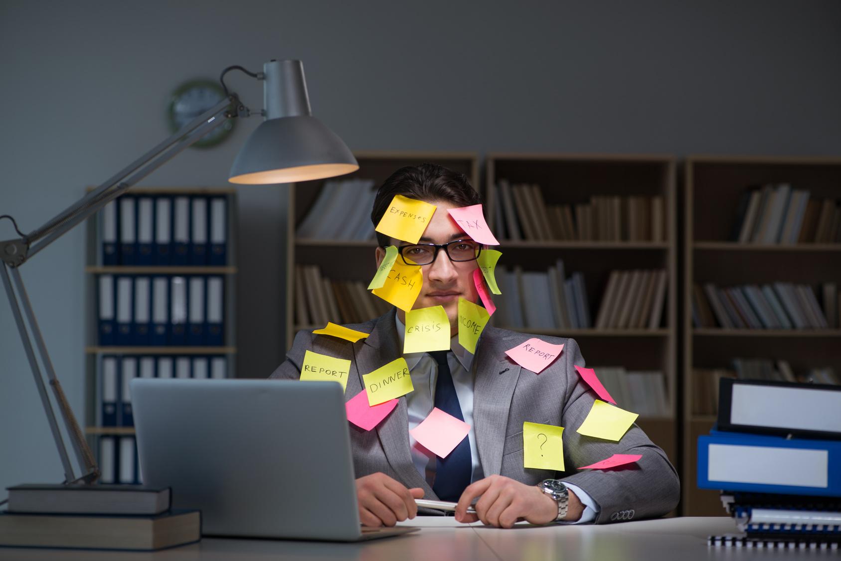 psychische Belastung am Arbeitsplatz durch zeitliche Puffer vorbeugen