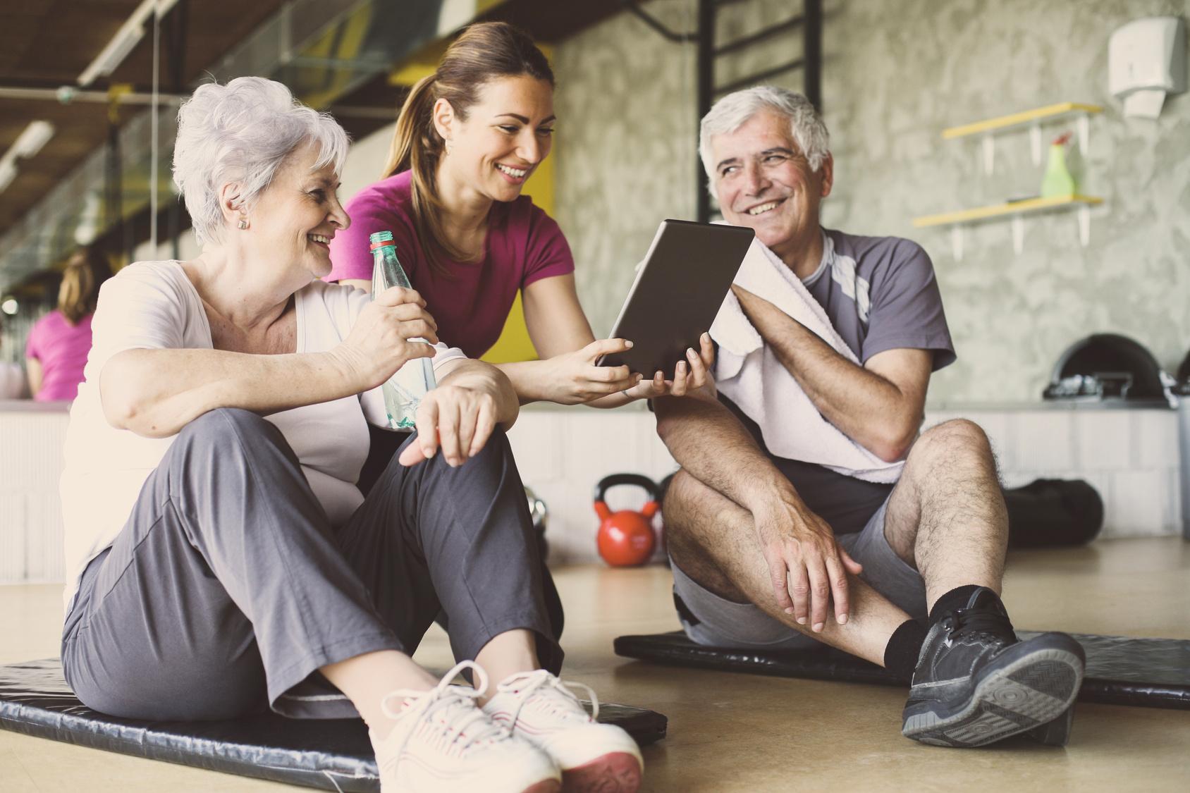 Ältere Mitarbeiter motivieren durch ein vielseitiges Angebot an BGM-Maßnahmen