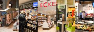 Einblick in die Läden der Unternehmensgruppe Dr. Eckert