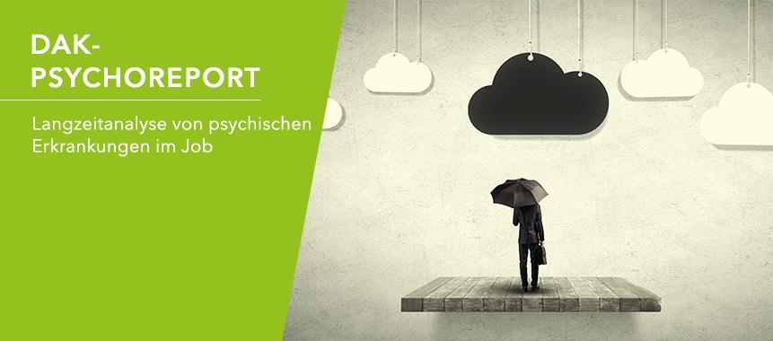 Bild zeigt psychische Erkrankung und die Notwendigkeit von Gesundheitsförderung und Prävention