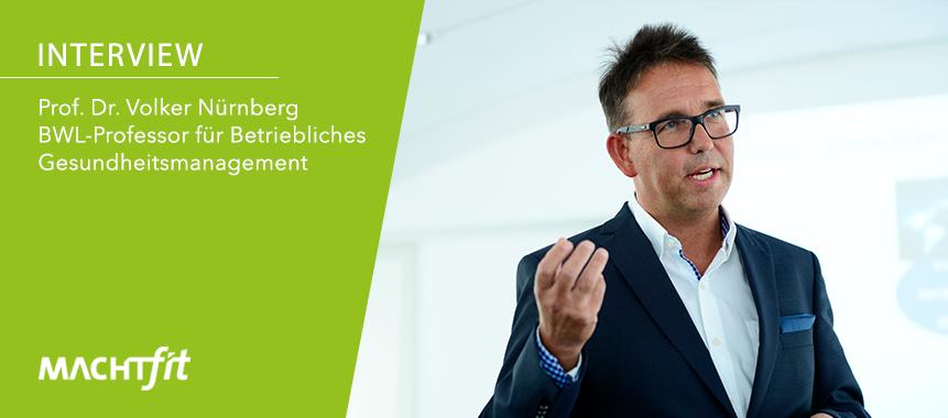 Prof. Dr. Volker Nürnberg im Interview mit machtfit
